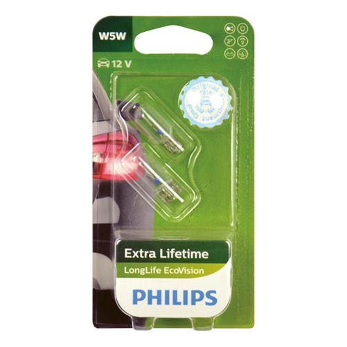 Philips 12961LLECOB2 W5W EcoVision 5W blister