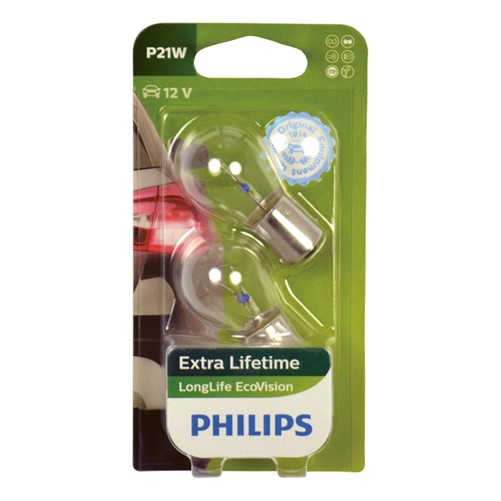 Philips 12498LLECOB2 P21W EcoVision 5W blister