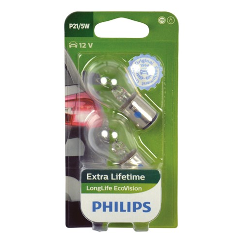 Philips 12499LLECOB2 P21/5W EcoVision 5W blister