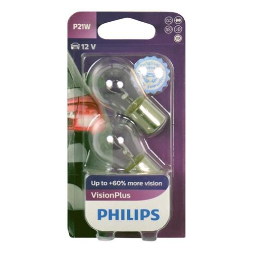 Philips 12498VPB2 P21W VisionPlus 5W blister