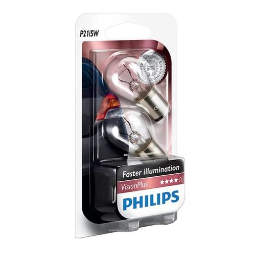 Philips 12499VPB2 P21/5W VisionPlus 5W blister