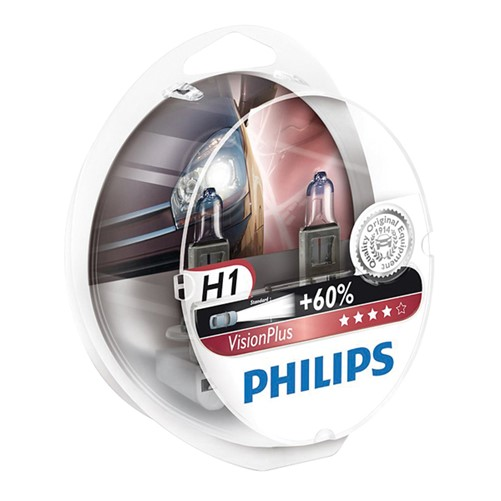 Philips 12258VPS2 H1 VisionPlus 55W showbox