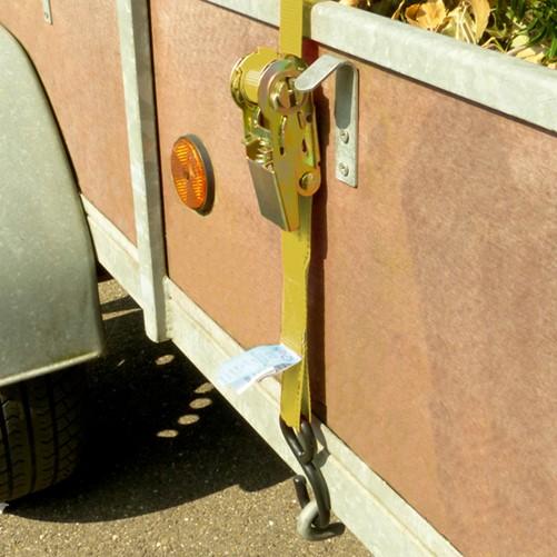 Bagagebinder+ratel+haak 1x 5m 350kg