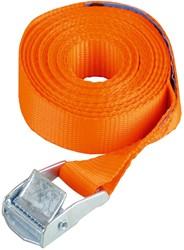 Basic spanband 25mm, met buckel