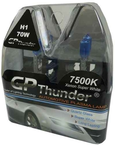 GP Thunder 7500k H1 70w Xenon Look - cool white-2