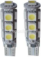 13 SMD CANBUS LED Stadslicht W5W T10