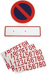 Sticker Verboden Parkeren