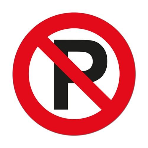 Sticker Parkeren Verboden