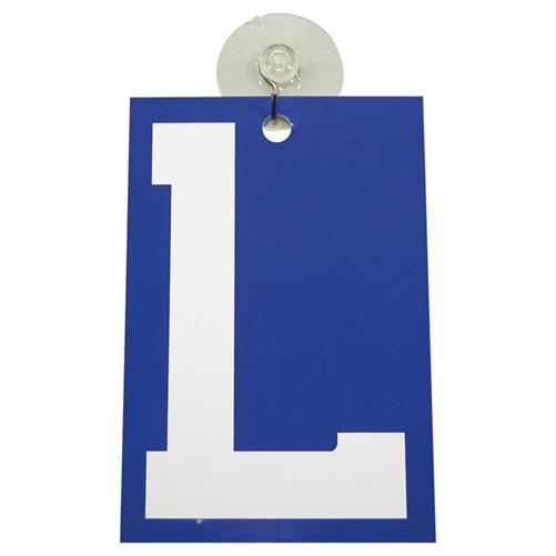 Plaatje L met zuignap