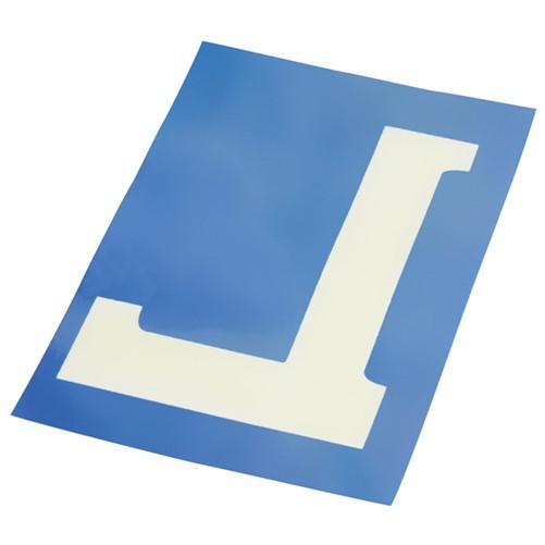 Electrostatisch label L 10x15cm