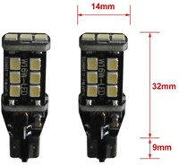 15 SMD Canbus LED W16W-T15 LET OP enkele lamp - wit