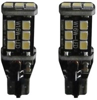 15 SMD Canbus LED W16W-T15 LET OP enkele lamp - rood