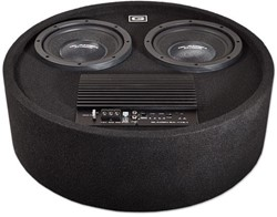 GLADEN RS 8 RB Dual Active 2 x 20 cm woofer in round box
