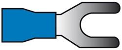 Kabelverbinders 664 blauw 50st.