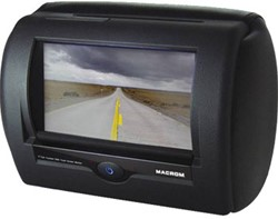 M-M700HD Macrom LCD hoofdsteun (zwart)
