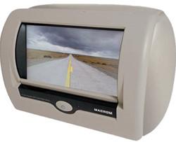M-M700HD.B Macrom LCD hoofdsteun (beige)