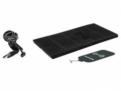 Set inductielader en ontvanger met antislipmat voor Iphone