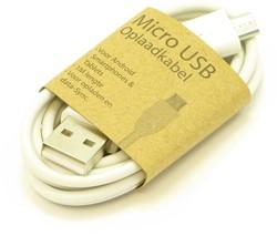 GrabNGo Micro USB laadkabel wit