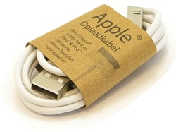GrabNGo Apple laadkabel wit 30-pins