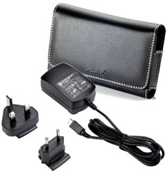 Mio 2pack: carry case + home charger Moov/Spirit