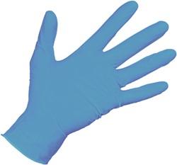Nitril Handschoen Blauw L 100st ds