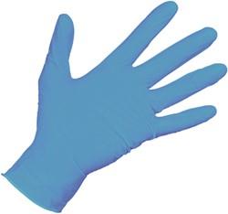 Nitril Handschoen Blauw XL 100st ds