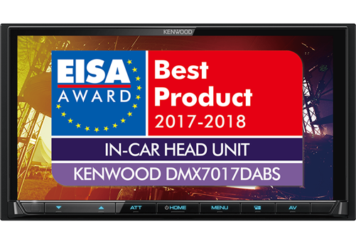 Kenwood DMX7017DABS Multimediasysteem