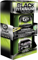 GS27 CL160250 Glansmiddel Titanium+ Intens Black 500ml