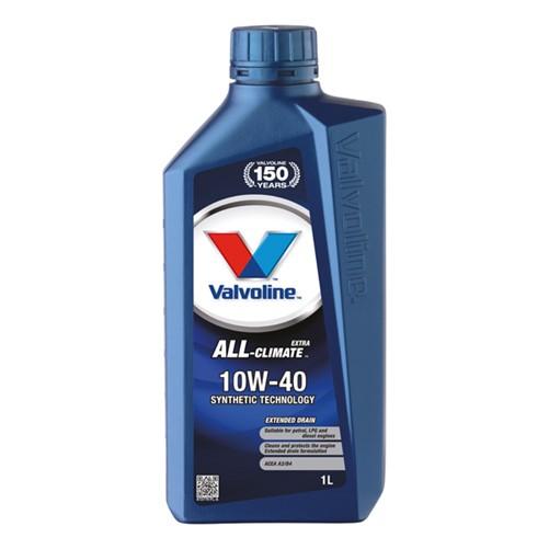 Valvoline 872779 All-Climate extra motor oil SAE 10W-40 1L