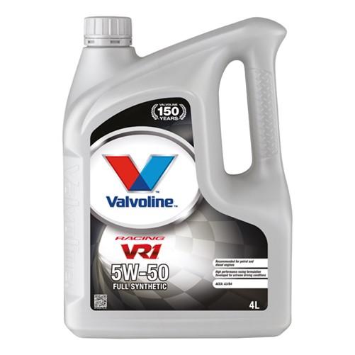 Valvoline 873434 VR1 Racing motor oil SAE 5W-50 4L