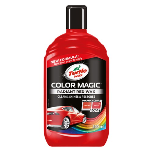 Turtle Wax 52711 Color Magic Radiant Red 500ml