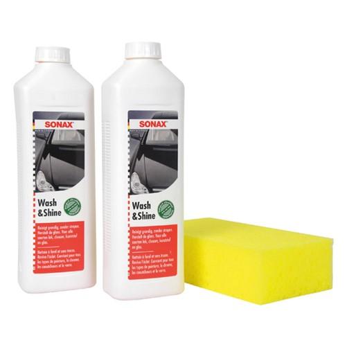 Sonax 03147410 Wash & shine shampooset