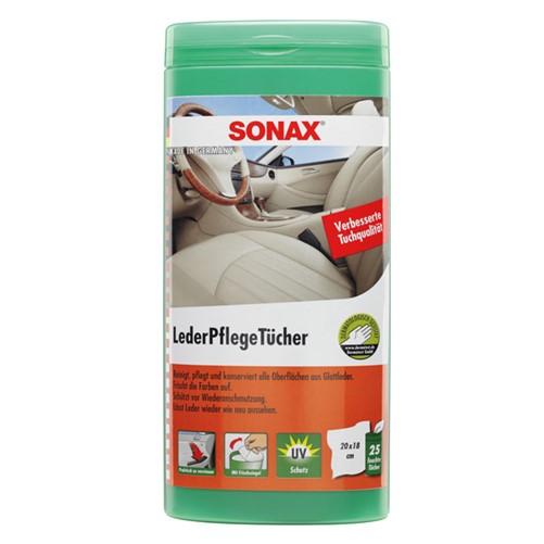 Sonax 04123000 Lederonderhoudsdoekjes 25St