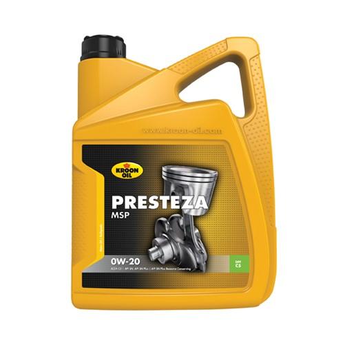 Kroon-Oil Presteza MSP 0W-20 5Ltr