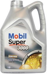 Mobil 2110656 Super 3000 X1 5W40 Can 5L