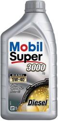 Mobil 2110728 Super 3000 X1 DSL 5W40 GSP 1L