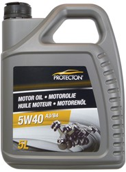 Protecton Motorolie synthetisch 5W40 A3/B4 5L