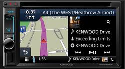 Kenwood DNX4180BTS Navigatie systeem