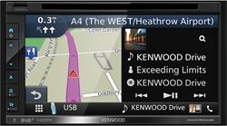 Kenwood DNX5180DABS Navigatie systeem