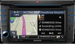 Kenwood DNX518VDABS Navigatie systeem