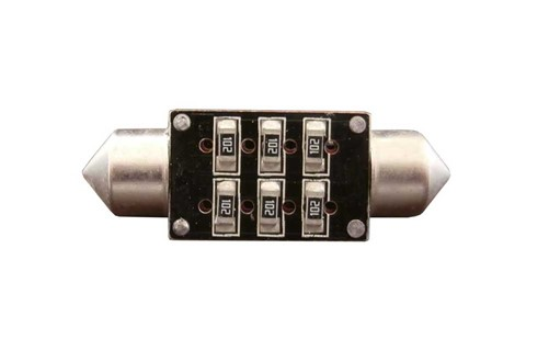 2 High Power SMD Canbus LED 42mm - wit-2