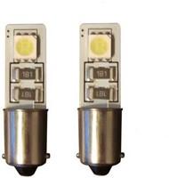 2 SMD CANBUS LED Stadslicht BA9S Wit
