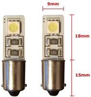 2 SMD CANBUS LED Stadslicht BA9s-2