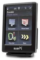 Bury CC9068 BT carkit multipoint TTS