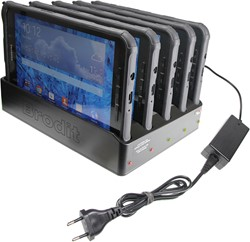 Brodit 5 pcs tablemulti charger - Samsung Galaxy Tab Active