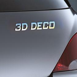 3D deco letter 'I'                1