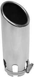 Uitlaatsierstuk Inox 30-50mm