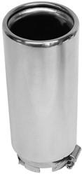 Uitlaatsierstuk Inox 30-54mm