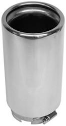 Uitlaatsierstuk Inox 55-66mm