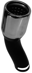 Uitlaatsierstuk Inox tot 45mm